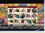 slotspel gratis Captain America CryptoLogic