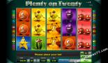 slotspel gratis Plenty on twenty Greentube